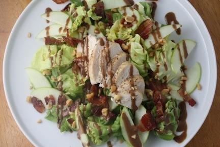 Chicken Apple Peanut Salad