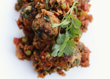 Chickpea Balls with Tomato Sauce 1