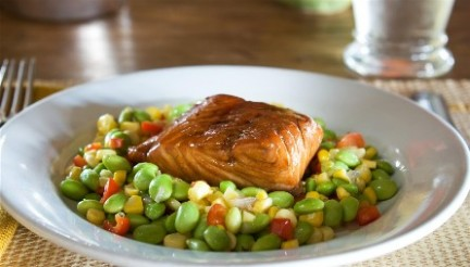 Soy-Maple-Glazed-Salmon