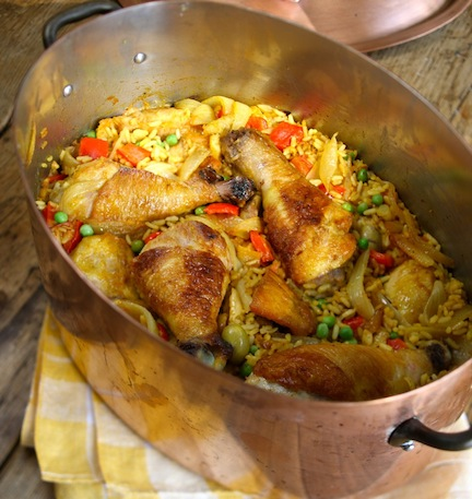 arrozconpollo