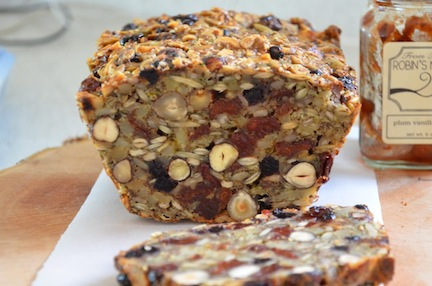 Paleo Nut Bread - The Family Cooks & The Family Dinner by Laurie David