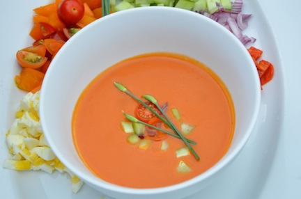 Spanish Gazpacho - The Family Cooks & The Family Dinner by Laurie ...