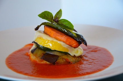 Roasted Vegetables with Polenta - The Family Cooks & The Family Dinner ...